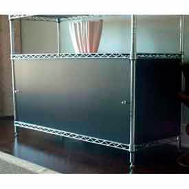 Plastic Enclosures for Wire Shelving 18