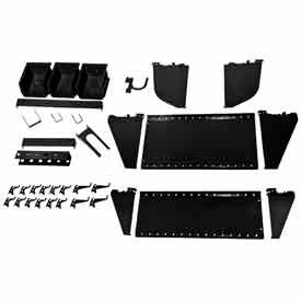Wall Control-Slotted Tool Board Workstation Accessory Kit