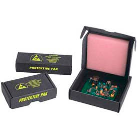 ESD Component and Circuit Board Shipping and Storage Boxes