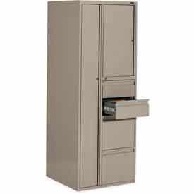 Industries mondiales 9100P série Personal Storage Tower - 100lb étagère capacité