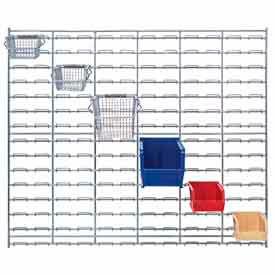 Bacs de fil et de panneaux persiennes de fil chromé