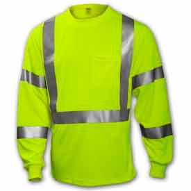 ANSI Class 3 - Hi-Visibility Long Sleeve Shirts