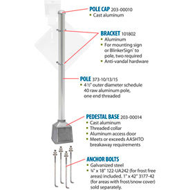 Blinker Breakaway Pole Packages
