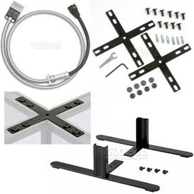 Interion® Cubicle Partition Connectors and Accessories