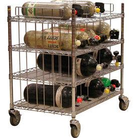 SCBA Cylinder Mobile Carts