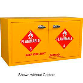 SciMatCo Metal-Free Plywood Mobile Flammable Cabinets