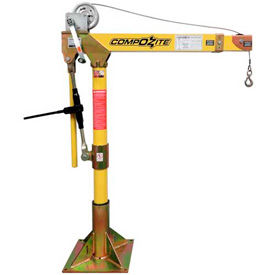 OZ Lifting COMPOZITE Lightweight & Portable Davit Crane