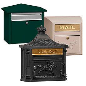 Salsbury avant ouverture courrier maisons, boîtes aux lettres modernes & victoriennes
