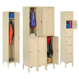 Tennsco All-Welded Heavy Duty Lockers with Latch Handle