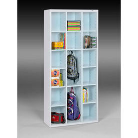 Welded Compartment Cubby Storage Cabinets
