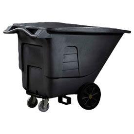 Toter® universelle en plastique Tilt camions - 1-1/2 de Cu Yd. capacité