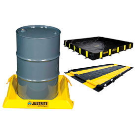 Justrite Spill Containment Berms