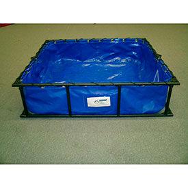 Husky en acier ou en aluminium Frame décontamination HAZ/MAT piscines