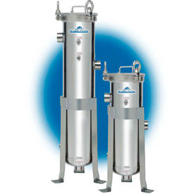 Single Liquid Bag Filter Vessels