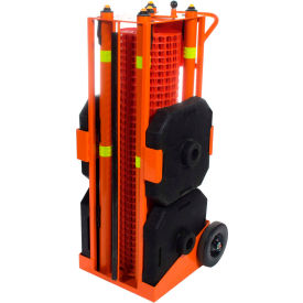Ideal Warehouse Portable Safety Zone Fence