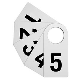 Montage salle Tags, 10/Pack