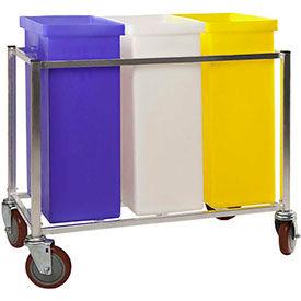 Winholt® Triple ingrédient Bin Cart