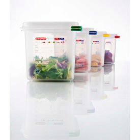 Araven Polypropylene Airtight Food Containers With Colorclip®