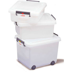 Araven HDPE Food Boxes With Lids