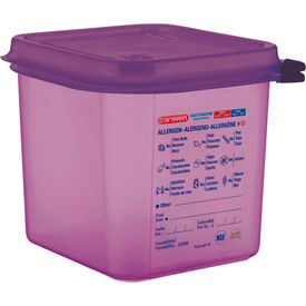 Araven Anti-Allergen Polypropylene Food Containers