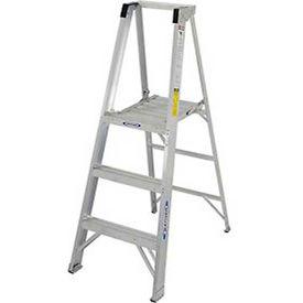 Werner Fiberglass Platform Step Ladders - CSA Approved