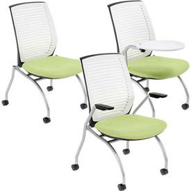 Interion® White Shell Nesting Chairs