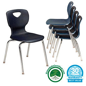 Allied - Choice Shell Stacking Classroom Chairs