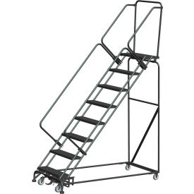 Weight Actuated Steel Rolling Ladders