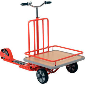 Industrial Scooter with Cargo Platform