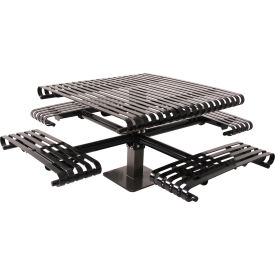 Steel Slat Picnic Tables