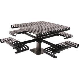 Steel Slat Picnic Tables