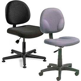 Armless Fabric Chairs