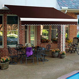 Awntech 7'W Heavy-Duty Motorized Retractable Awnings