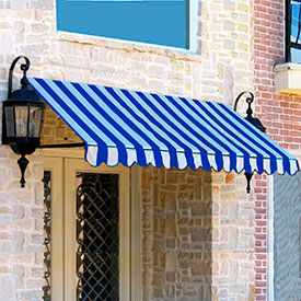 Awntech 3-3/8'W Open-Sided Slope Awnings
