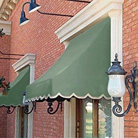 Awntech 8-3/8'W Crescent Shaped Awnings