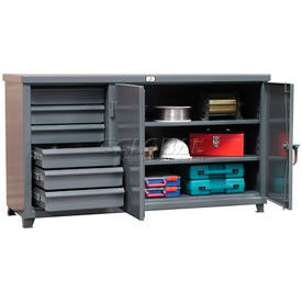 Strong Hold 12 Gauge Multi-Storage Cabinet Workbenches