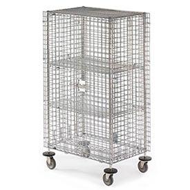 Metro® qwikSLOT ™ Wire Security Storage Trucks