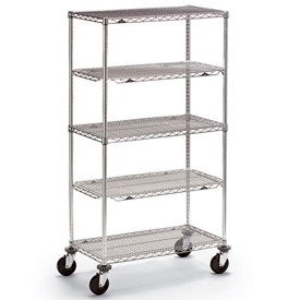 Metro® qwikSLOT™ Wire Shelf Trucks & Utility Carts