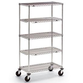 Metro® qwikSLOT™ Super Erecta Brite Wire Shelf Trucks & Utility Carts
