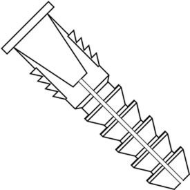 Ribbed Hollow Wall Plastic Anchors