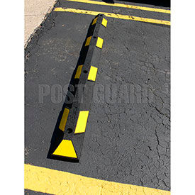 Post Guard® Rubber Parking Curbs
