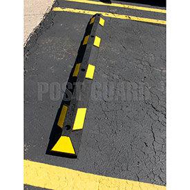 Post Guard® Rubber Parking Curbs