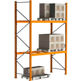 Cresswell Pre-Configured Pallet Rack Starter & Add-On Units