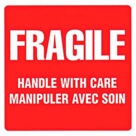 Étiquettes d'expédition fragile