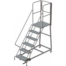 Forward Descent Steel Rolling Ladders with Rear Exit Walk Off Gates