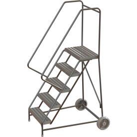 Aluminum Wheel-Barrow Style Rolling Ladders