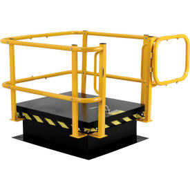 Roof Hatch Safety Ladders, Posts, and Rail Systems