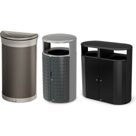 Rubbermaid Enhance & Resist Decorative Waste Containers