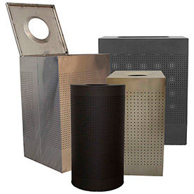 Witt Steel Decorative Trash Cans