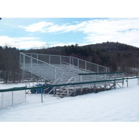 Elevated Aluminum Bleachers